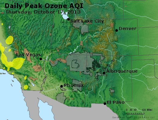 Peak Ozone (8-hour) - http://files.airnowtech.org/airnow/2013/20131017/peak_o3_co_ut_az_nm.jpg