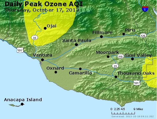 Peak Ozone (8-hour) - http://files.airnowtech.org/airnow/2013/20131017/peak_o3_ventura.jpg