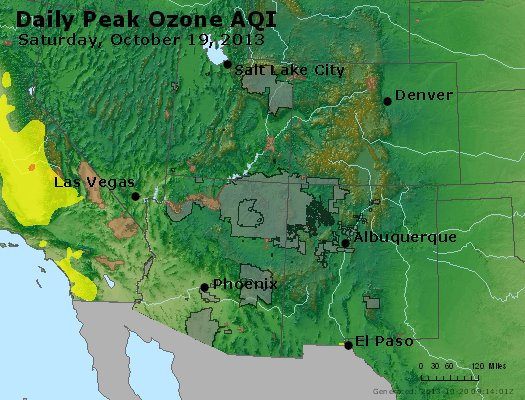 Peak Ozone (8-hour) - http://files.airnowtech.org/airnow/2013/20131019/peak_o3_co_ut_az_nm.jpg