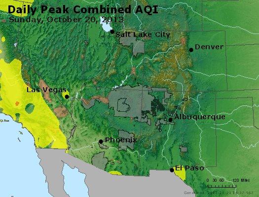 Peak AQI - http://files.airnowtech.org/airnow/2013/20131020/peak_aqi_co_ut_az_nm.jpg