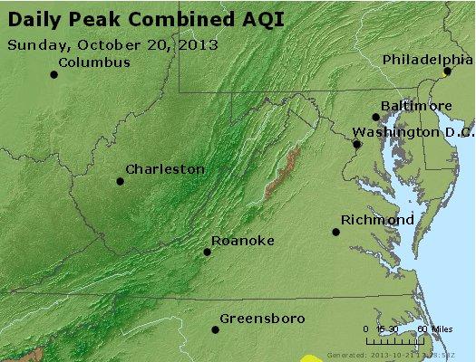 Peak AQI - http://files.airnowtech.org/airnow/2013/20131020/peak_aqi_va_wv_md_de_dc.jpg