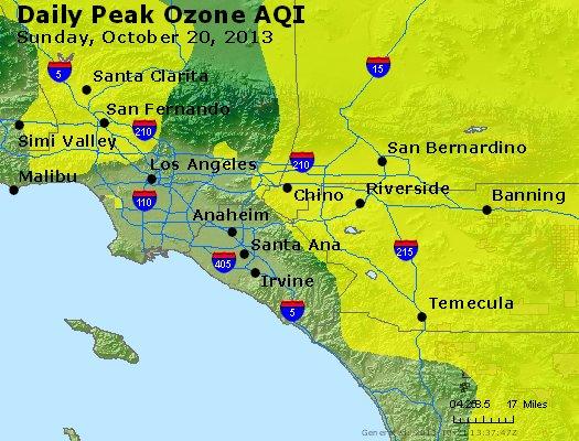 Peak Ozone (8-hour) - http://files.airnowtech.org/airnow/2013/20131020/peak_o3_losangeles_ca.jpg