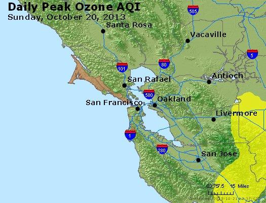Peak Ozone (8-hour) - http://files.airnowtech.org/airnow/2013/20131020/peak_o3_sanfrancisco_ca.jpg