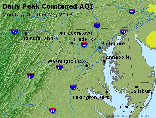 Peak AQI - http://files.airnowtech.org/airnow/2013/20131021/peak_aqi_maryland.jpg