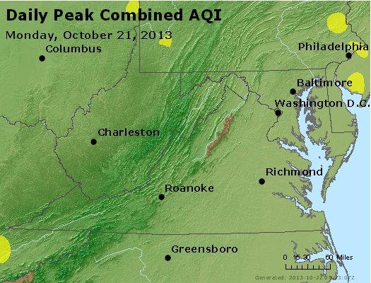 Peak AQI - http://files.airnowtech.org/airnow/2013/20131021/peak_aqi_va_wv_md_de_dc.jpg