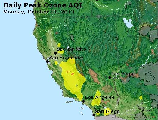 Peak Ozone (8-hour) - http://files.airnowtech.org/airnow/2013/20131021/peak_o3_ca_nv.jpg