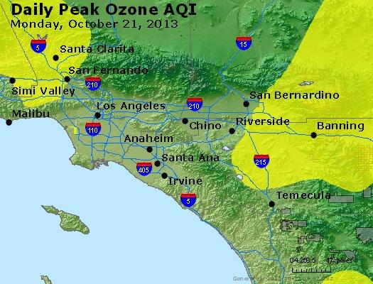 Peak Ozone (8-hour) - http://files.airnowtech.org/airnow/2013/20131021/peak_o3_losangeles_ca.jpg