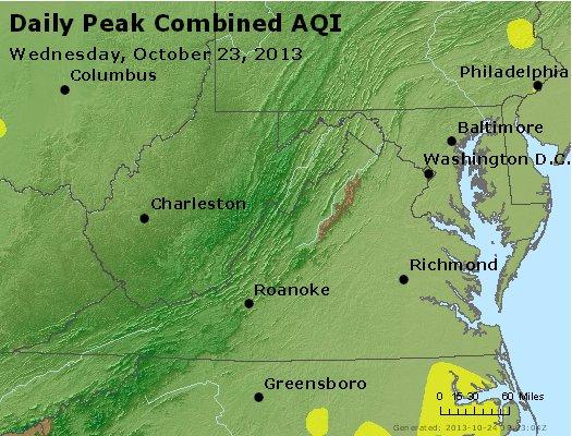 Peak AQI - http://files.airnowtech.org/airnow/2013/20131023/peak_aqi_va_wv_md_de_dc.jpg