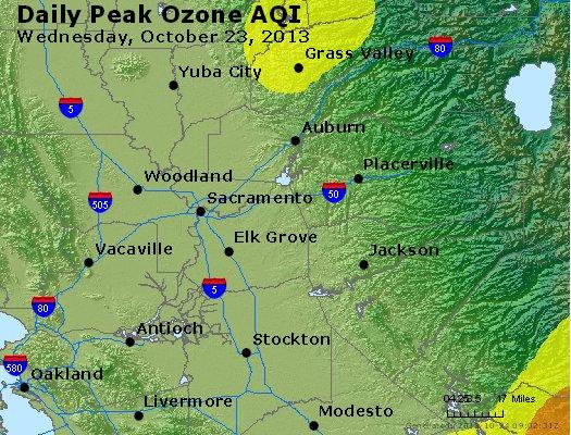 Peak Ozone (8-hour) - http://files.airnowtech.org/airnow/2013/20131023/peak_o3_sacramento_ca.jpg