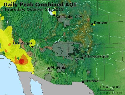 Peak AQI - http://files.airnowtech.org/airnow/2013/20131024/peak_aqi_co_ut_az_nm.jpg