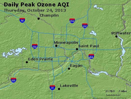 Peak Ozone (8-hour) - http://files.airnowtech.org/airnow/2013/20131024/peak_o3_minneapolis_mn.jpg