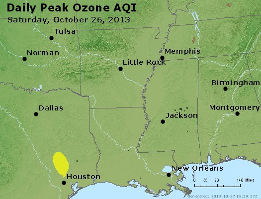 Peak Ozone (8-hour) - http://files.airnowtech.org/airnow/2013/20131026/peak_o3_ar_la_ms.jpg