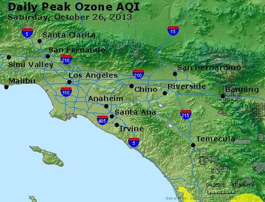 Peak Ozone (8-hour) - http://files.airnowtech.org/airnow/2013/20131026/peak_o3_losangeles_ca.jpg
