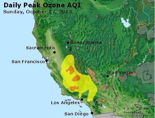 Peak Ozone (8-hour) - http://files.airnowtech.org/airnow/2013/20131027/peak_o3_ca_nv.jpg