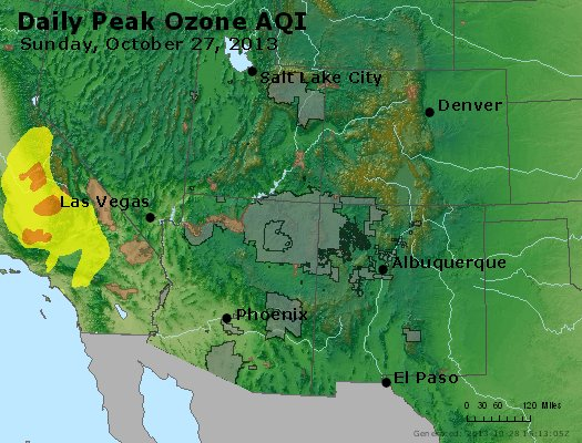 Peak Ozone (8-hour) - http://files.airnowtech.org/airnow/2013/20131027/peak_o3_co_ut_az_nm.jpg