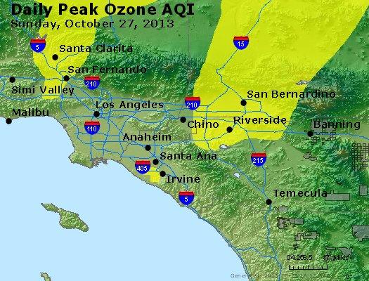Peak Ozone (8-hour) - http://files.airnowtech.org/airnow/2013/20131027/peak_o3_losangeles_ca.jpg
