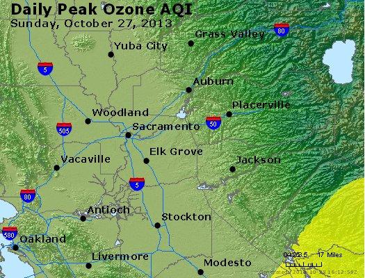 Peak Ozone (8-hour) - http://files.airnowtech.org/airnow/2013/20131027/peak_o3_sacramento_ca.jpg
