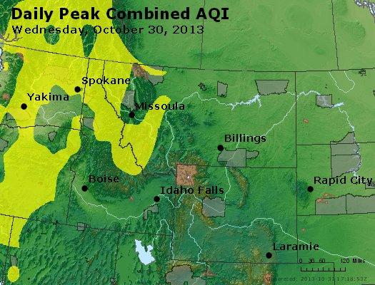 Peak AQI - http://files.airnowtech.org/airnow/2013/20131030/peak_aqi_mt_id_wy.jpg