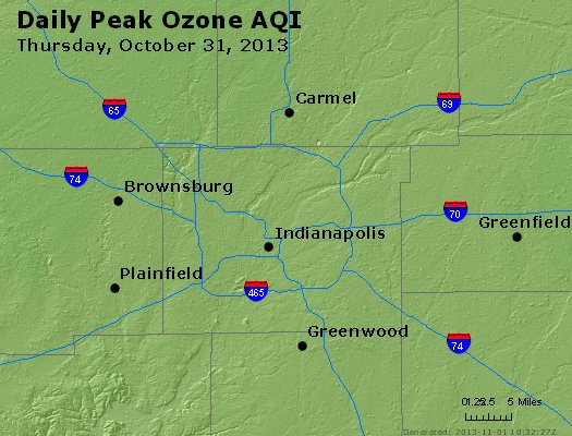Peak Ozone (8-hour) - http://files.airnowtech.org/airnow/2013/20131031/peak_o3_indianapolis_in.jpg