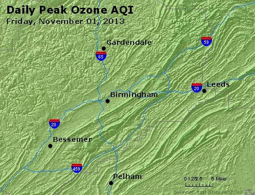 Peak Ozone (8-hour) - http://files.airnowtech.org/airnow/2013/20131102/peak_o3_birmingham_al.jpg
