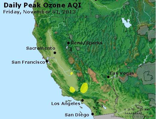 Peak Ozone (8-hour) - http://files.airnowtech.org/airnow/2013/20131102/peak_o3_ca_nv.jpg