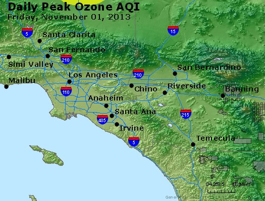 Peak Ozone (8-hour) - http://files.airnowtech.org/airnow/2013/20131102/peak_o3_losangeles_ca.jpg