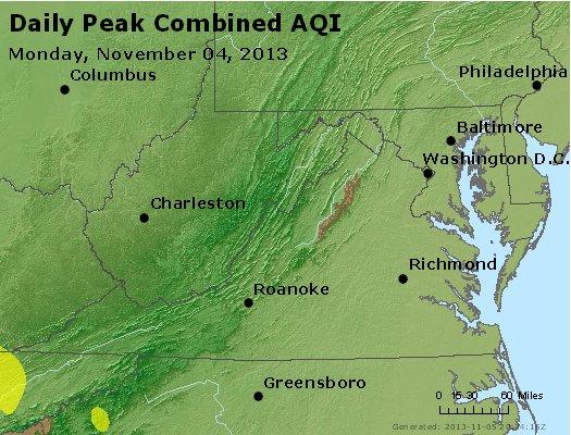 Peak AQI - http://files.airnowtech.org/airnow/2013/20131104/peak_aqi_va_wv_md_de_dc.jpg