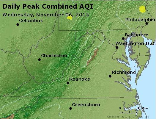 Peak AQI - http://files.airnowtech.org/airnow/2013/20131106/peak_aqi_va_wv_md_de_dc.jpg