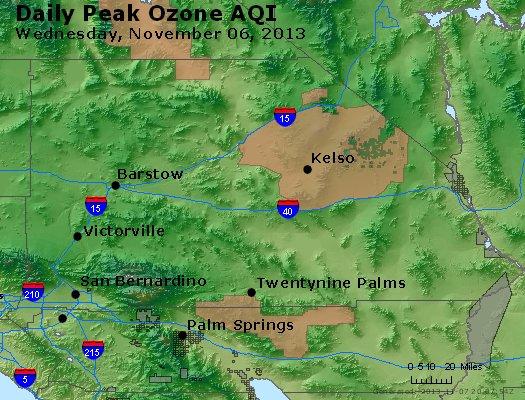 Peak Ozone (8-hour) - http://files.airnowtech.org/airnow/2013/20131106/peak_o3_sanbernardino_ca.jpg