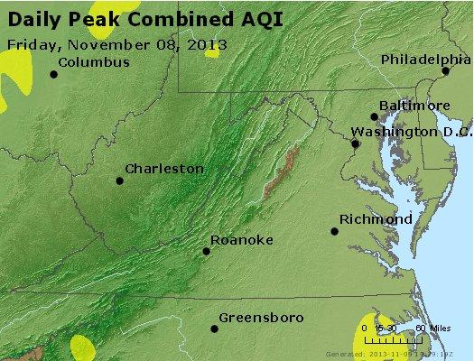 Peak AQI - http://files.airnowtech.org/airnow/2013/20131108/peak_aqi_va_wv_md_de_dc.jpg