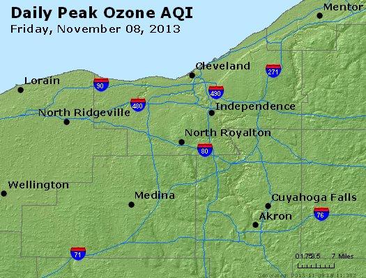Peak Ozone (8-hour) - http://files.airnowtech.org/airnow/2013/20131108/peak_o3_cleveland_oh.jpg