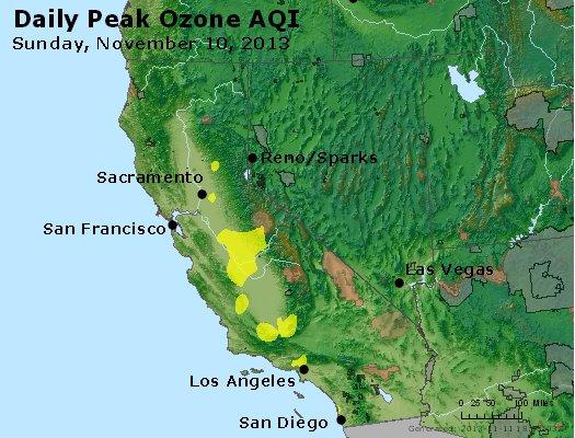 Peak Ozone (8-hour) - http://files.airnowtech.org/airnow/2013/20131110/peak_o3_ca_nv.jpg