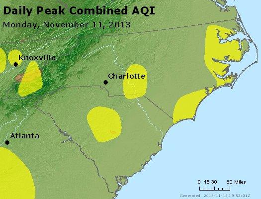 Peak AQI - http://files.airnowtech.org/airnow/2013/20131111/peak_aqi_nc_sc.jpg