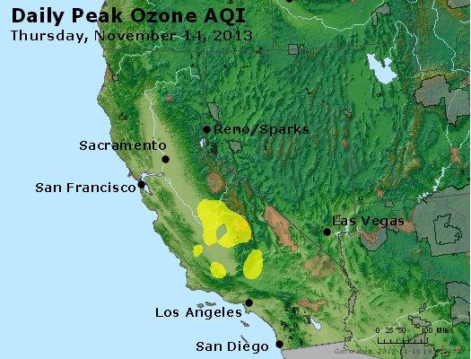 Peak Ozone (8-hour) - http://files.airnowtech.org/airnow/2013/20131114/peak_o3_ca_nv.jpg