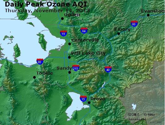 Peak Ozone (8-hour) - http://files.airnowtech.org/airnow/2013/20131114/peak_o3_saltlakecity_ut.jpg