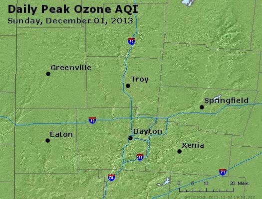 Peak Ozone (8-hour) - http://files.airnowtech.org/airnow/2013/20131201/peak_o3_dayton_oh.jpg