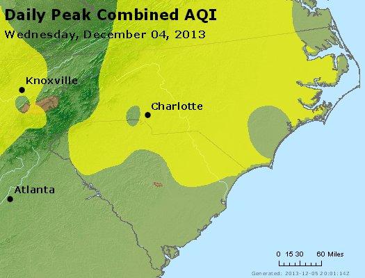 Peak AQI - http://files.airnowtech.org/airnow/2013/20131204/peak_aqi_nc_sc.jpg