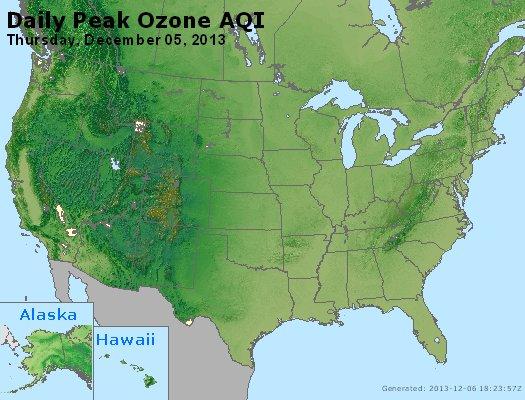 Peak Ozone (8-hour) - http://files.airnowtech.org/airnow/2013/20131205/peak_o3_usa.jpg