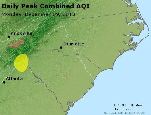 Peak AQI - http://files.airnowtech.org/airnow/2013/20131209/peak_aqi_nc_sc.jpg