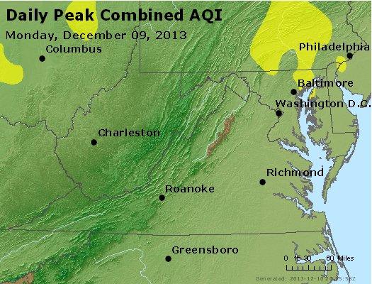 Peak AQI - http://files.airnowtech.org/airnow/2013/20131209/peak_aqi_va_wv_md_de_dc.jpg