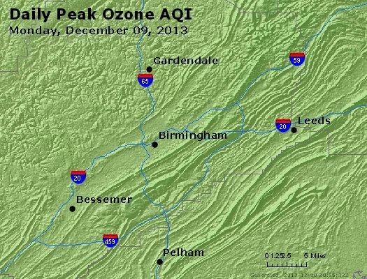Peak Ozone (8-hour) - http://files.airnowtech.org/airnow/2013/20131209/peak_o3_birmingham_al.jpg