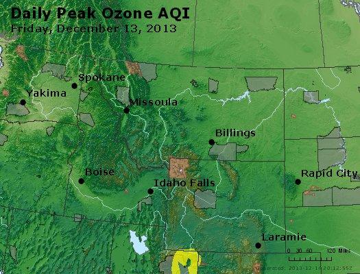 Peak Ozone (8-hour) - http://files.airnowtech.org/airnow/2013/20131213/peak_o3_mt_id_wy.jpg