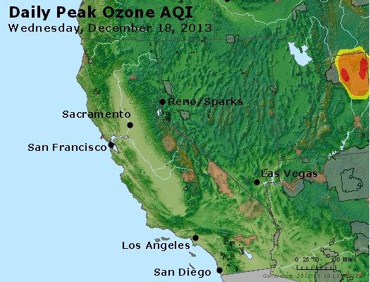 Peak Ozone (8-hour) - http://files.airnowtech.org/airnow/2013/20131218/peak_o3_ca_nv.jpg