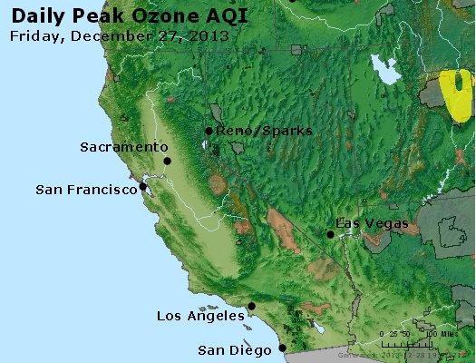 Peak Ozone (8-hour) - http://files.airnowtech.org/airnow/2013/20131227/peak_o3_ca_nv.jpg