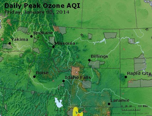 Peak Ozone (8-hour) - http://files.airnowtech.org/airnow/2014/20140103/peak_o3_mt_id_wy.jpg