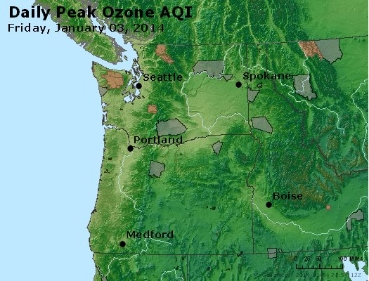 Peak Ozone (8-hour) - http://files.airnowtech.org/airnow/2014/20140103/peak_o3_wa_or.jpg