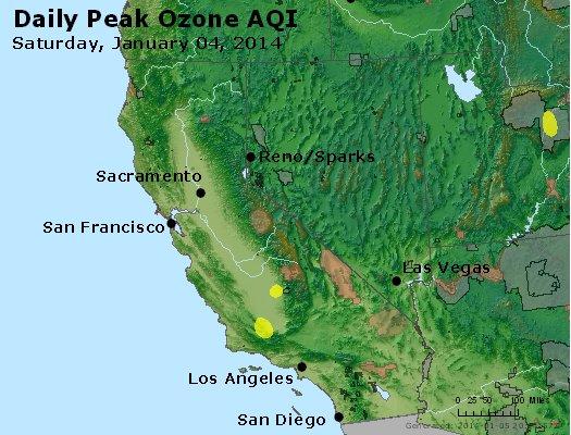 Peak Ozone (8-hour) - http://files.airnowtech.org/airnow/2014/20140104/peak_o3_ca_nv.jpg