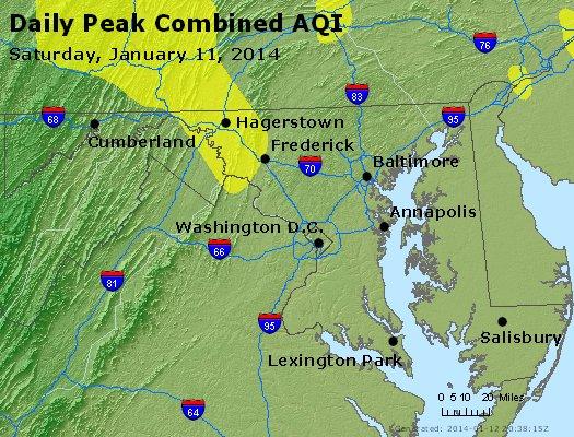 Peak AQI - http://files.airnowtech.org/airnow/2014/20140111/peak_aqi_maryland.jpg