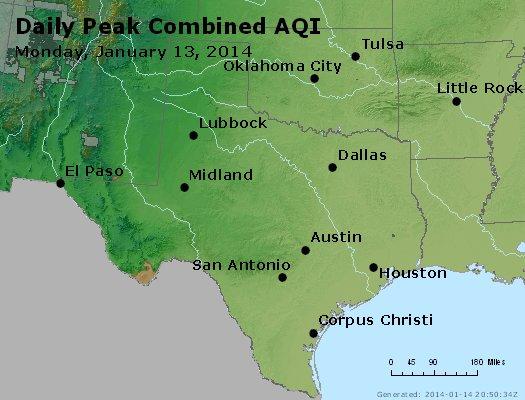 Peak AQI - http://files.airnowtech.org/airnow/2014/20140113/peak_aqi_tx_ok.jpg