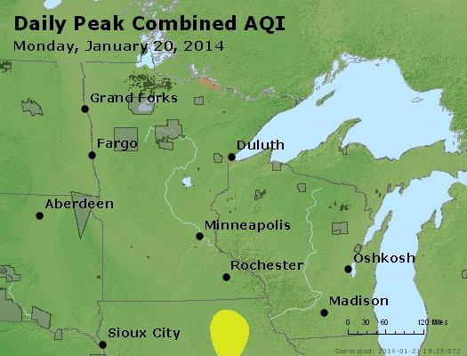 Peak AQI - http://files.airnowtech.org/airnow/2014/20140120/peak_aqi_mn_wi.jpg